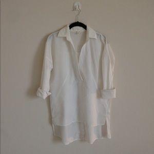 White large blouse